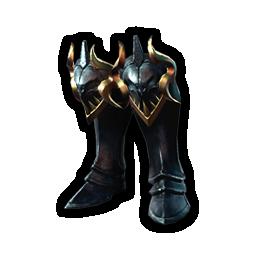 征服者の脛当のアイコン