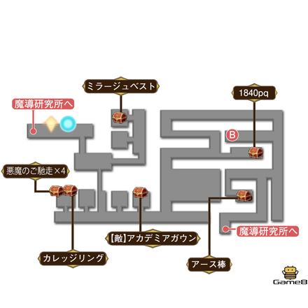 魔導研究所マップ