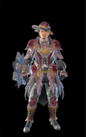 Jelly Layered Armor Set (Hunter)