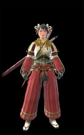 Utsushi (Hidden) / Channeler Layered Armor Set (Hunter)