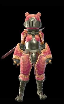 Rhenoplos Layered Armor Set (Hunter)