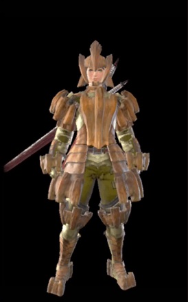 Barroth Layered Armor Set (Hunter)