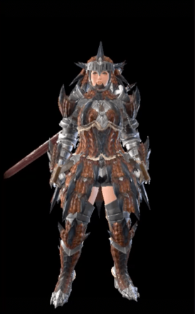 Rathalos Layered Armor Set (Hunter)