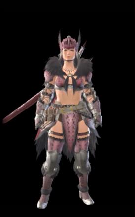 Anja Layered Armor Set (Hunter)