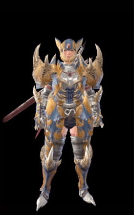 Tigrex Layered Armor Set (Hunter)
