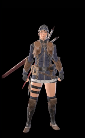 Leather Layered Armor Set (Hunter)