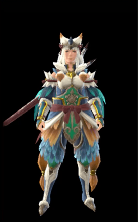 Bishaten Layered Armor Set (Hunter)