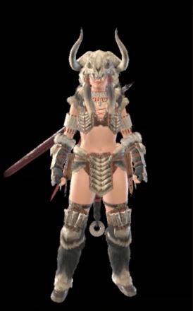 Bone Layered Armor Set (Hunter)