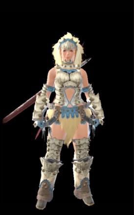 Barioth Layered Armor Set (Hunter)
