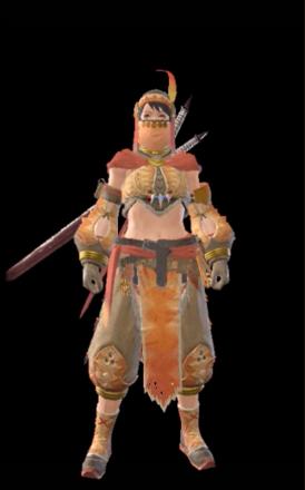 Kulu Layered Armor Set (Hunter)