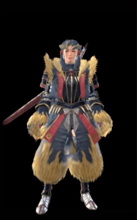 Golden Layered Armor Set (Hunter)