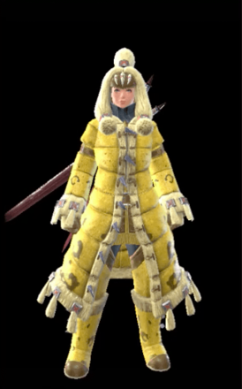 Ludroth Layered Armor Set (Hunter)