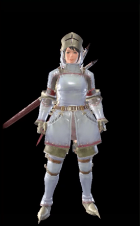 Khezu Layered Armor Set (Hunter)