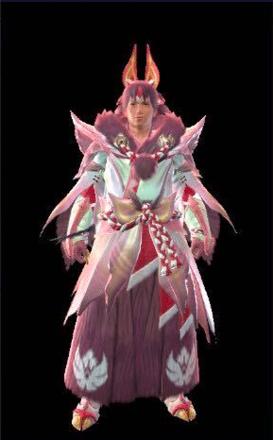 Mizutsune Layered Armor Set (Hunter)