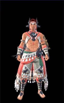 Shell-Studded Layered Armor Set (Hunter)