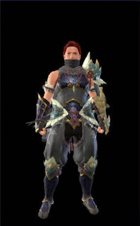 Utsushi (Visible) / Medium Layered Armor Set (Hunter)