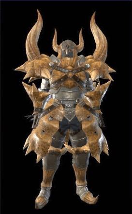 Diablos Layered Armor Set (Hunter)