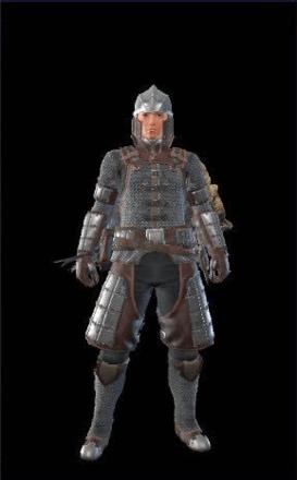 Chainmail Layered Armor Set (Hunter)