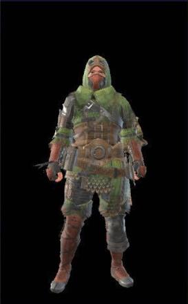 Pukei Layered Armor Set (Hunter)