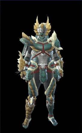 Zinogre Layered Armor Set (Hunter)