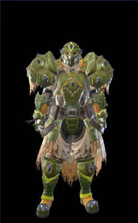Tetranadon Layered Armor Set (Hunter)