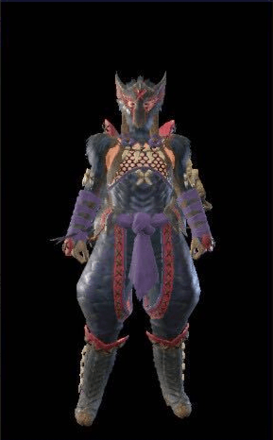 Nargacuga Layered Armor Set (Hunter)
