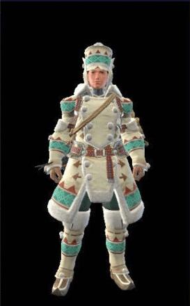 Lagombi Layered Armor Set (Hunter)