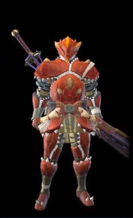 Volvidon Layered Armor Set (Hunter)