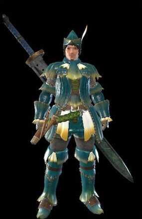 Melahoa Layered Armor Set (Hunter)