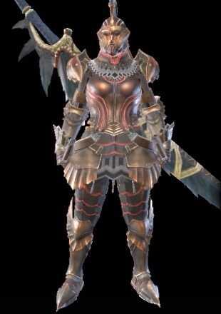 MH Rise Kushala Female Armor Set