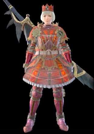MH Rise Kaiser Female Armor Set