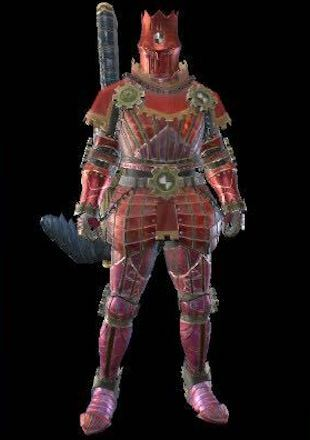 MH Rise Kaiser Male Armor Set