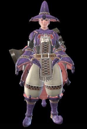 Mizuha Layered Armor Set (Hunter)