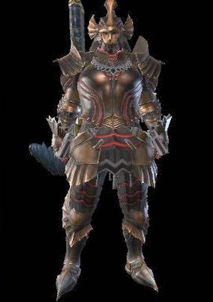 MH Rise Kushala Male Armor Set