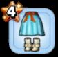 ターニアのスカート