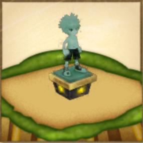 キルアの像