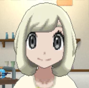 髪型プラチナブロンドの画像