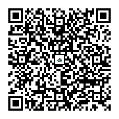 フシギソウのQRコードの画像