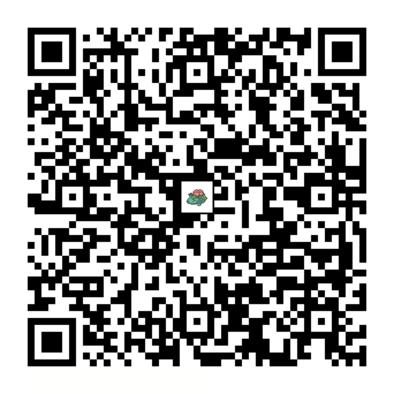 フシギバナのQRコードの画像