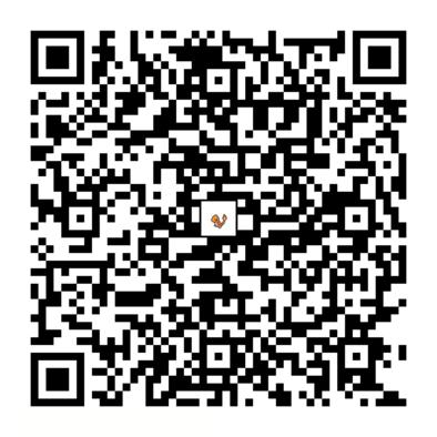 ヒトカゲのQRコードの画像