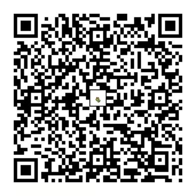 キャタピーのQRコードの画像