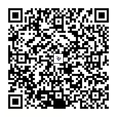 バタフリーのQRコードの画像