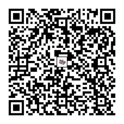 ニドキングのQRコードの画像