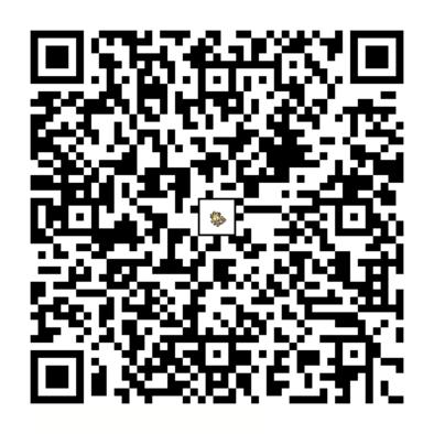 ニャースのQRコードの画像