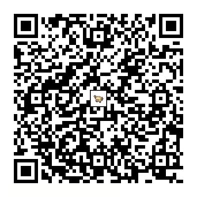 オコリザルのQRコードの画像