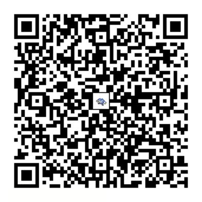 ニョロボンのQRコードの画像