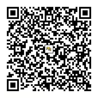 フーディンのQRコードの画像