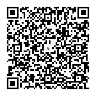 メノクラゲのQRコードの画像
