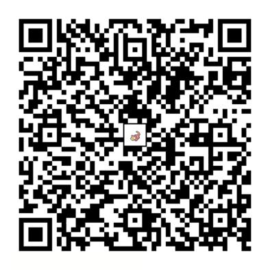 ヤドンのQRコードの画像
