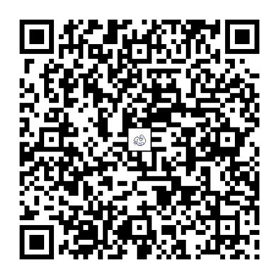 ジュゴンのQRコードの画像